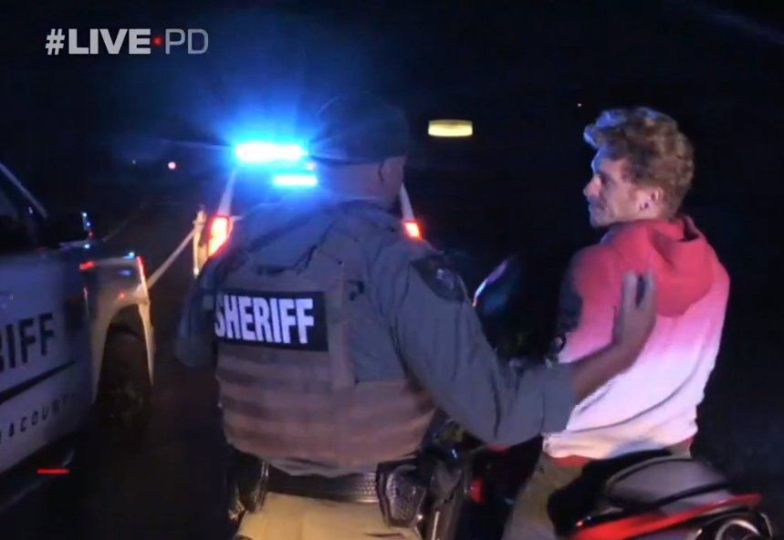 Live PD - 11.08.19 Motorcycle
