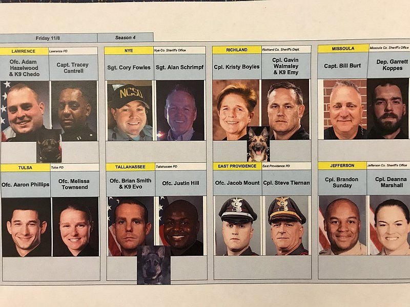 Live PD - 11.08.19 Officers
