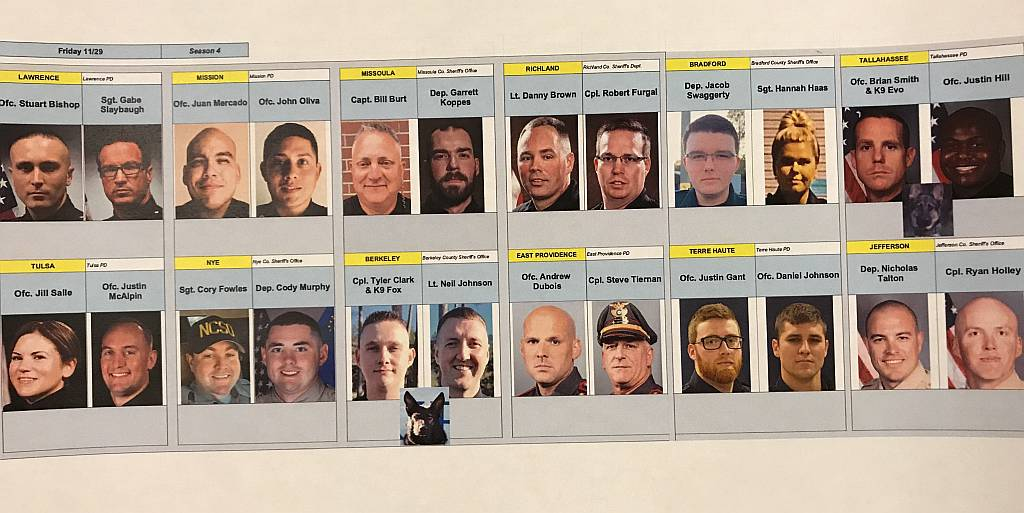 Live PD 11.29.19 Officers