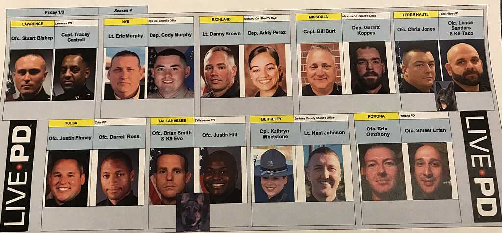 Live PD - 01.03.20 Officers
