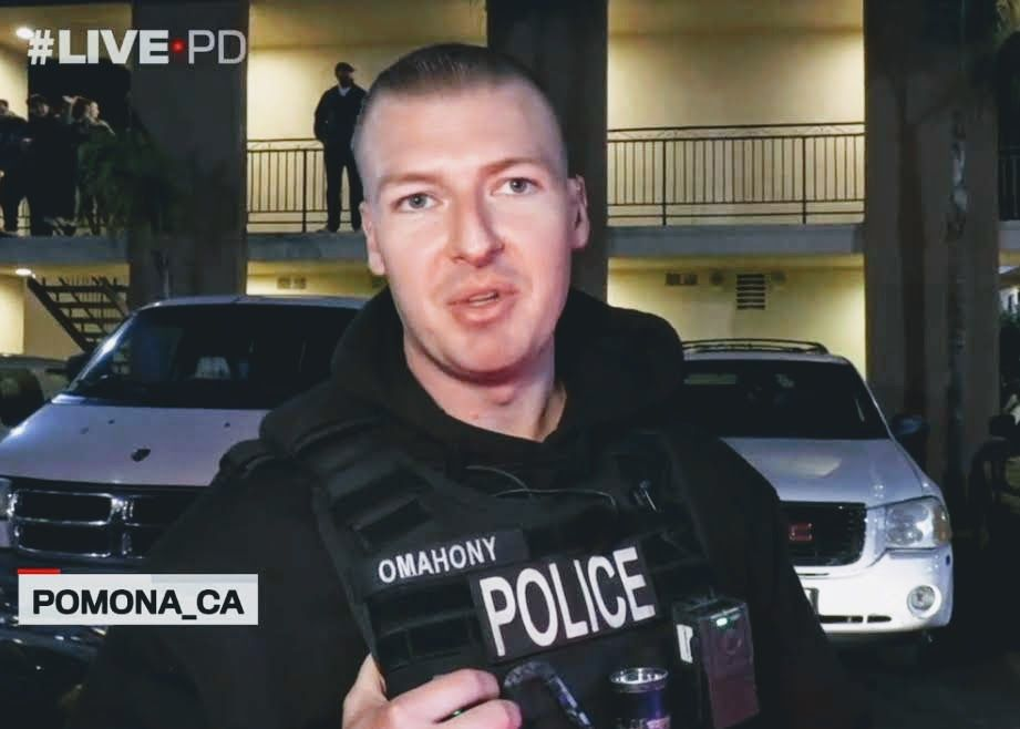 Officer Eric Omahony