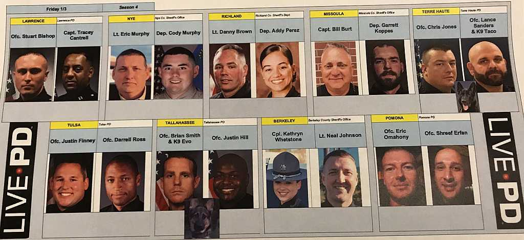 Live PD - 01.04.20 Officers
